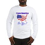 I Love America Long Sleeve T-Shirt