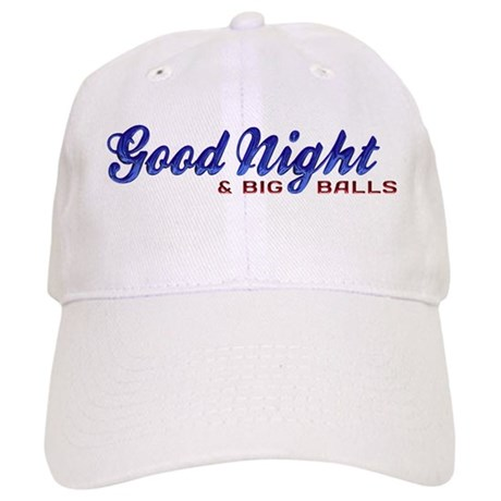 Good Night with Water Drops Cap