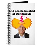 And people laughed at Dan Qua Journal