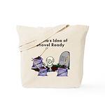 Obama's Idea of Shovel Ready Tote Bag