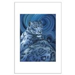 Snow Leopard Large Poster