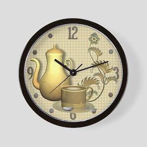 Coffee Break Time Wall Clock