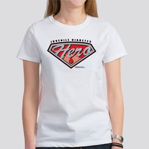 Juvenile Diabetes Hero Women's T-Shirt