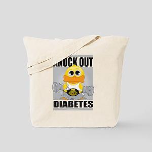 Knock Out Diabetes Tote Bag