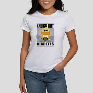Knock Out Diabetes Women's T-Shirt