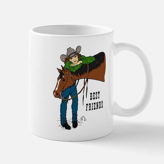 Girl & Horse Mug