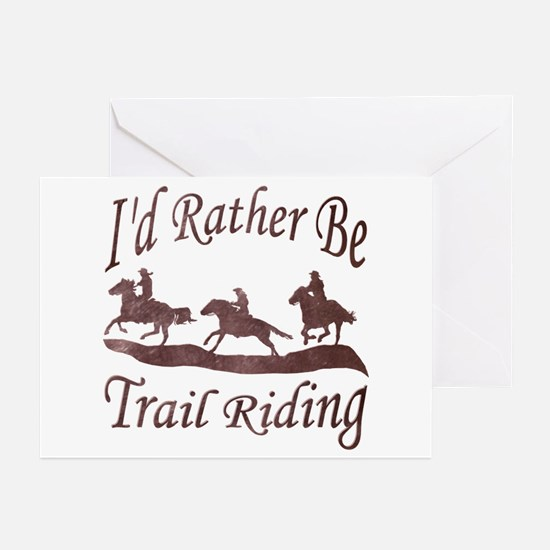 Trail Riders Greeting Cards (Pk of 20)