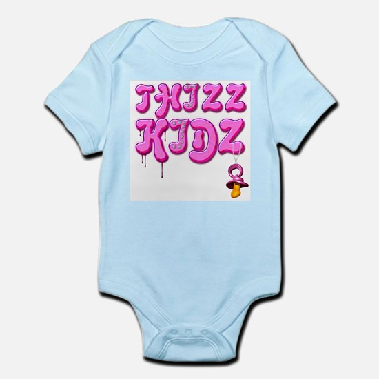 Thizz Kidz [Baby PINK] Infant Creeper