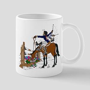 Horse at Flower Box Mug