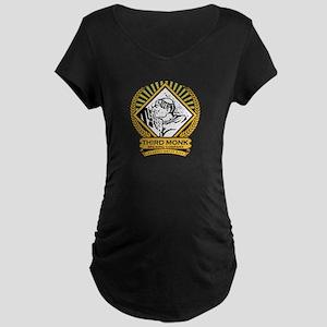 Transparent Background Maternity T-Shirt
