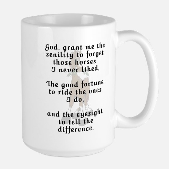 Rider's Prayer Large Mug