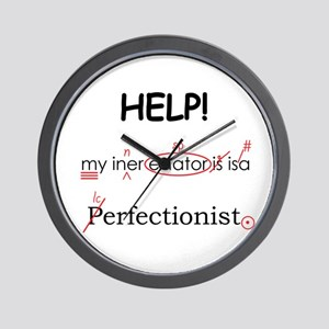 Perfectionist Editor Wall Clock