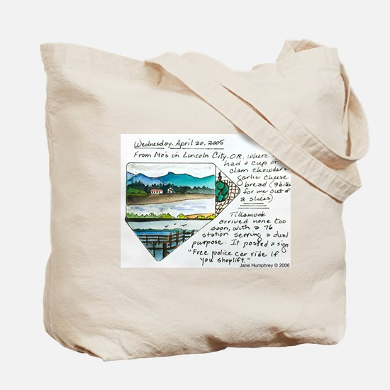 Jane's Journals tote bag