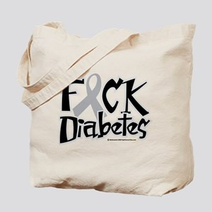 Fuck Diabetes Tote Bag