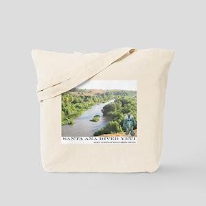 Santa Ana River Yeti Tote Bag