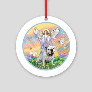 Blessings - English Bulldog 9 Ornament (Round)