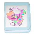 Bishan China baby blanket