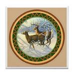 White Tail Deer Tile Coaster Tile Coaster