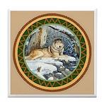 Wolf Tile Coaster Tile Coaster