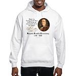 Benjamin Franklin Beer Quote Hooded Sweatshirt