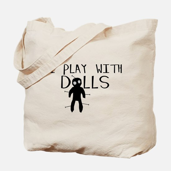 Play With Dolls Tote Bag
