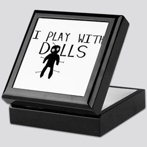 Play With Dolls Keepsake Box