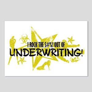 I ROCK THE S#%! - UNDERWRITING Postcards (Package