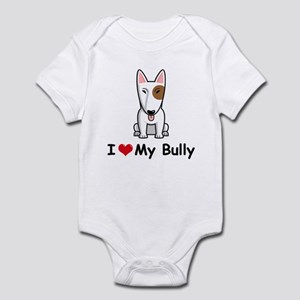 Bull Terrier Infant Bodysuit