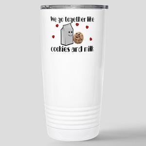 Cookies And Milk Stainless Steel Travel Mug