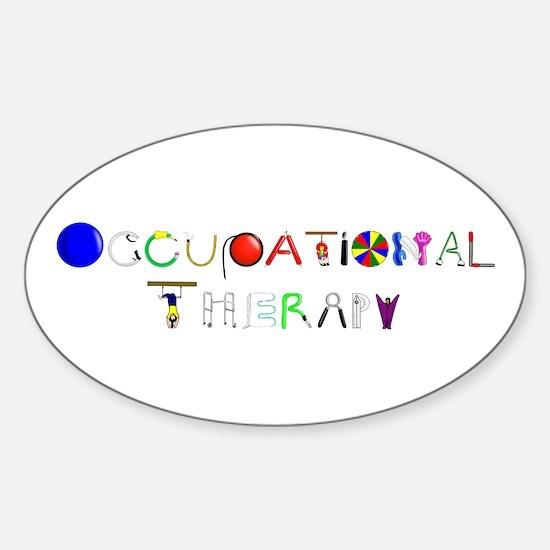 OT at work Sticker (Oval)