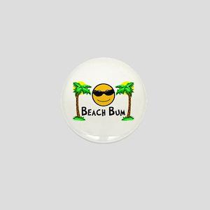 Beach Bum Mini Button
