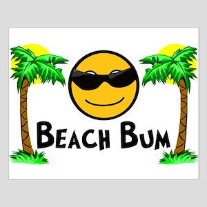 Beach Bum Small Poster