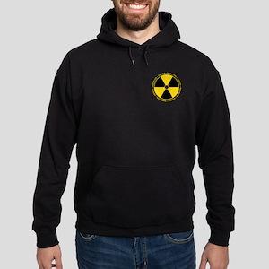 Radiation Warning Hoodie (dark)
