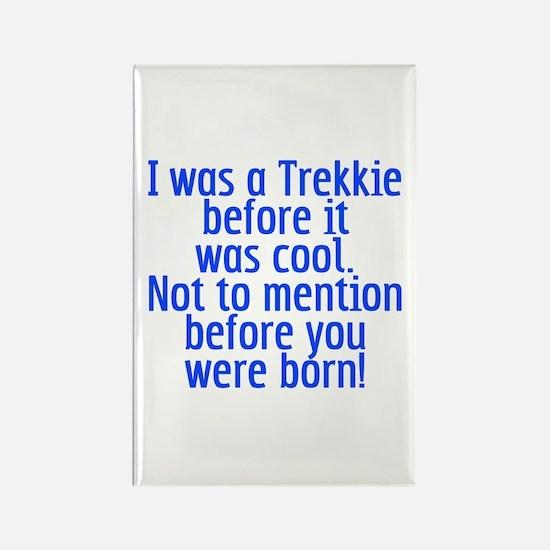 Star Trek Trekkie Cool Rectangle Magnet