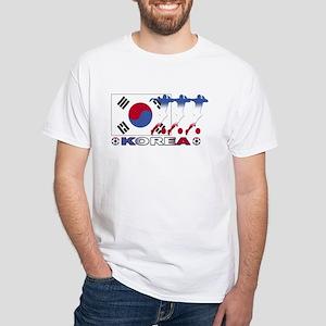 Korea soccer White T-Shirt