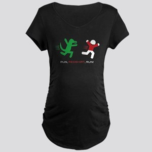 Run, Redshirt, Run! Maternity Dark T-Shirt