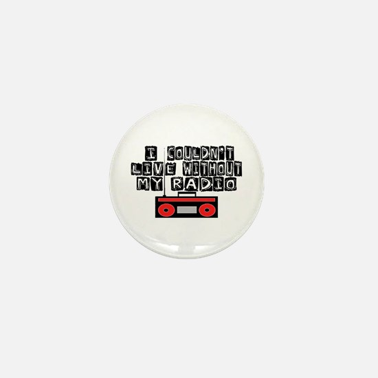 My Radio Mini Button