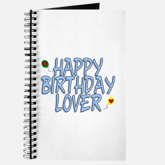 Happy Birthday Lover Journal