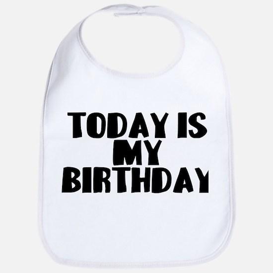 Birthday Today Bib