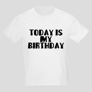 Birthday Today Kids Light T-Shirt
