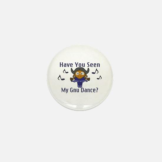 Gnu Dance Mini Button