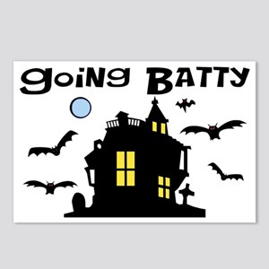 Going Batty Postcards (Package of 8)