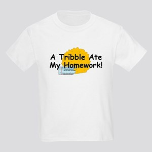 A Tribble ate my homework Kids Light T-Shirt