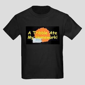 A Tribble ate my homework Kids Dark T-Shirt