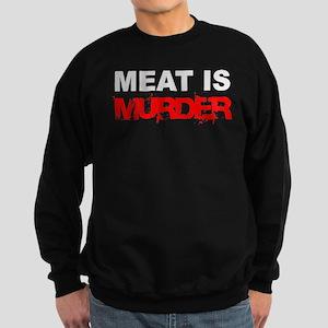 Meat Is Murder Veg*n Sweatshirt (dark)