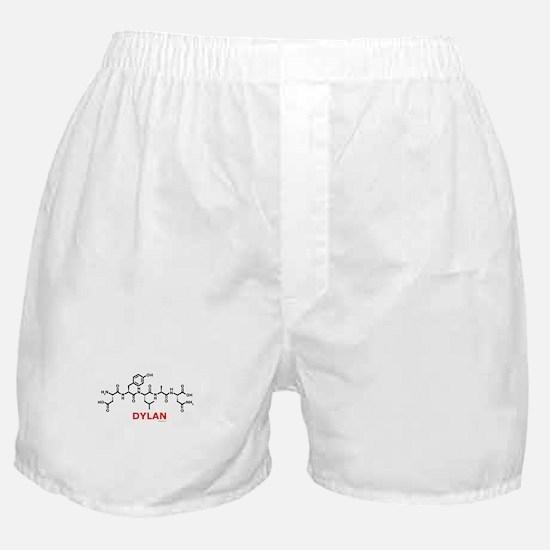 Dylan name molecule Boxer Shorts