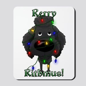 Poodle - Rerry Rithmus Mousepad