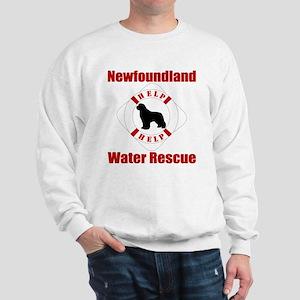 Help Newf Help Sweatshirt
