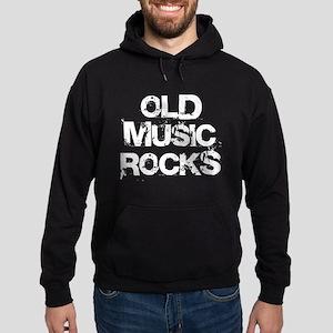 Old Music Rocks Hoodie (dark)