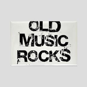 Old Music Rocks Rectangle Magnet (10 pack)